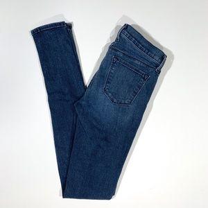 J Brand | Stacked Skinny Jeans in Crush